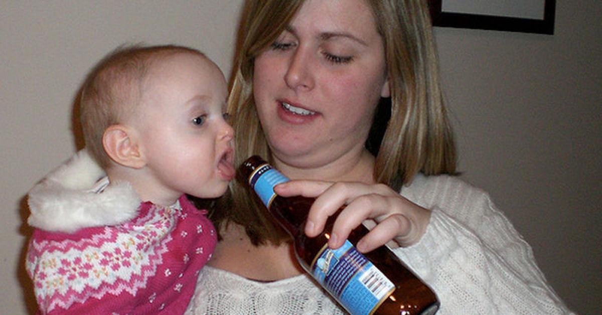 Детский алкоголизм (5)